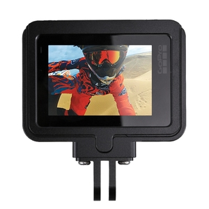 Image 2 - PULUZ для GoPro NEW HERO/HERO7 Black/6/5 корпус с ЧПУ Алюминиевый сплав Защитная клетка и страховая рамка