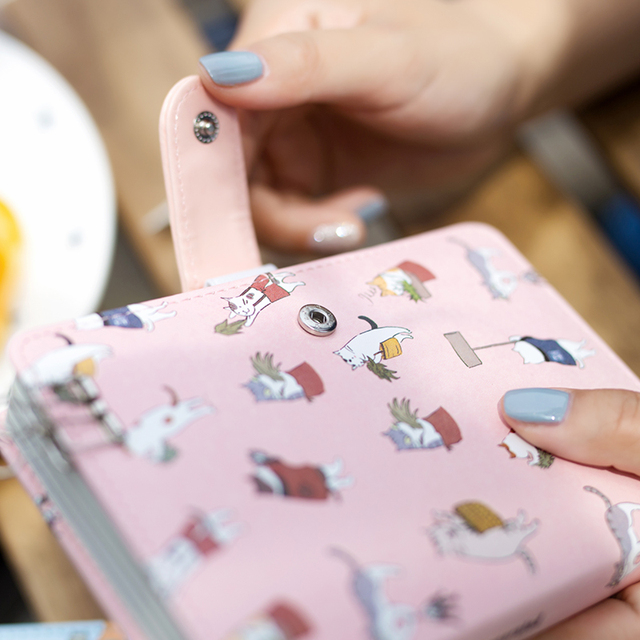 Cats notebook with zipper