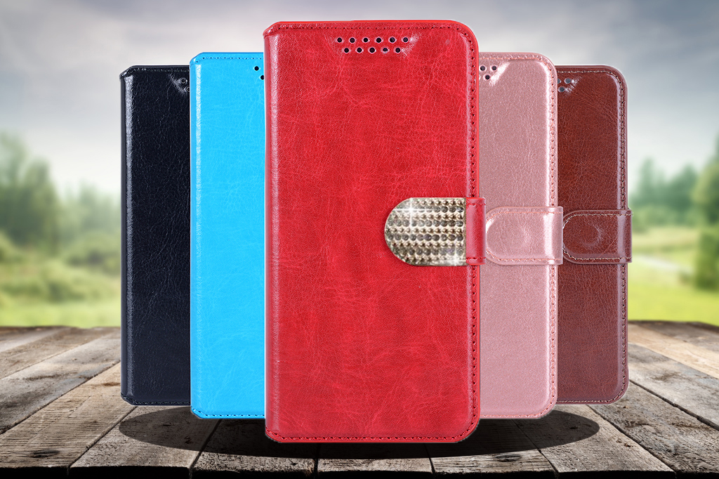 Newest high quality For Senseit E510 Case Luxury PU Leather Flip Protect the phone case For Senseit E 510