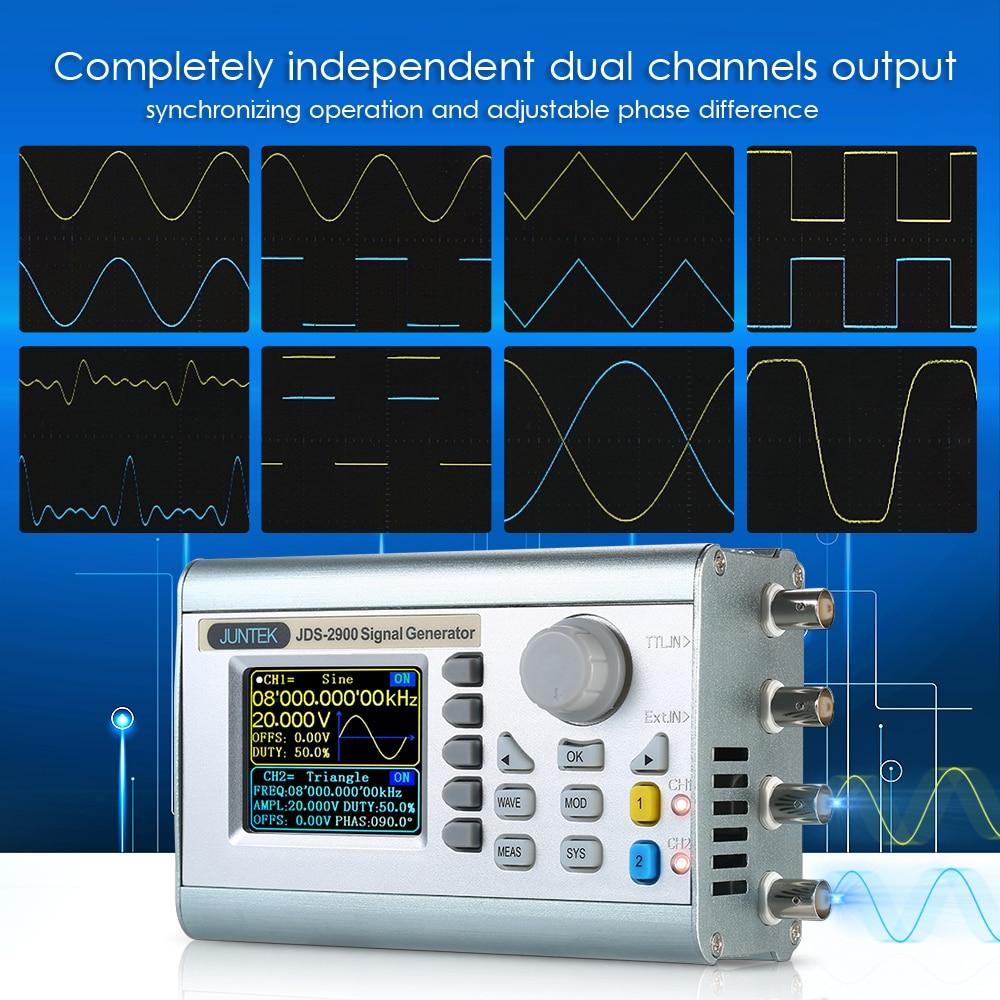 15 Mhz Digitale Dual-kanal Dds Signal Generator Zähler Beliebige Wellenform Puls Signal Generator Funktion Frequenz Meter