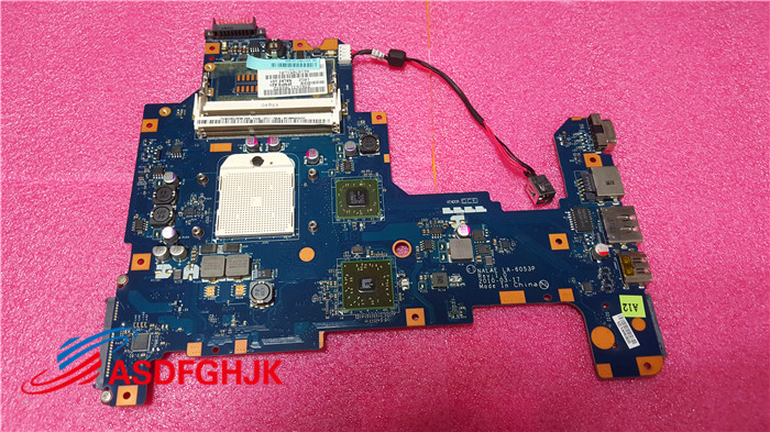 FOR Toshiba Satellite L675 L675D LAPTOP Motherboard K000103980 LA-6053P 100% TESED OKFOR Toshiba Satellite L675 L675D LAPTOP Motherboard K000103980 LA-6053P 100% TESED OK