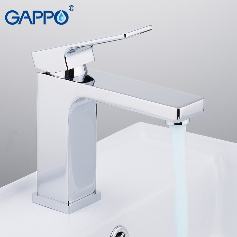 GAPPO basin faucet bathroom faucets deck mounted mixer waterfall ...