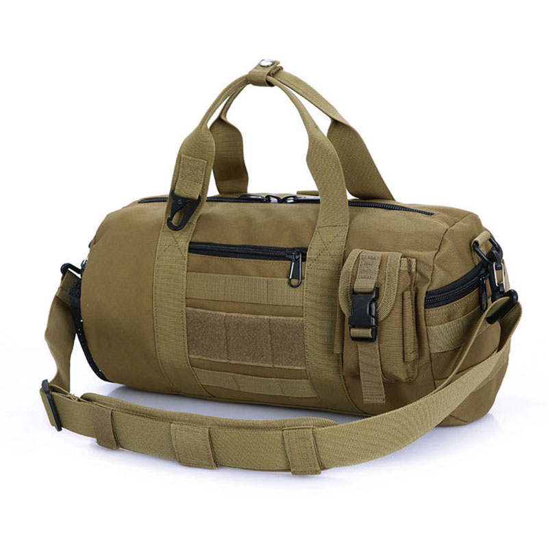 Outdoor Sports Army Gym Bags For Women Men Fitness Camouflage Tactical Military Molle Shoulder Bag Travel Duffle XA266WD In From