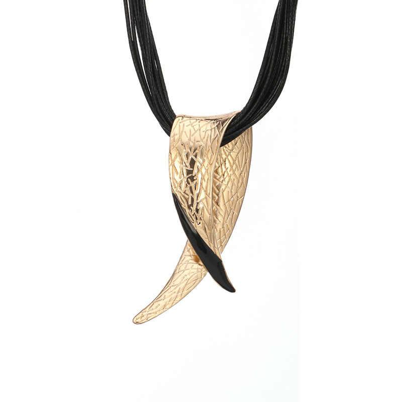 2018 специальное предложение, новое большое ожерелье с подвеской Popsocket из воловьей кожи, короткая цепочка для свитера, ювелирные изделия Amazon