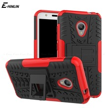 TPU + PC Armor Stand Holder Back Cover For Alcatel A5 LED A3 U5 Pop 4 Plus 4S idol 4 Tough Heavy Duty Hybrid Impact Phone Case(China)