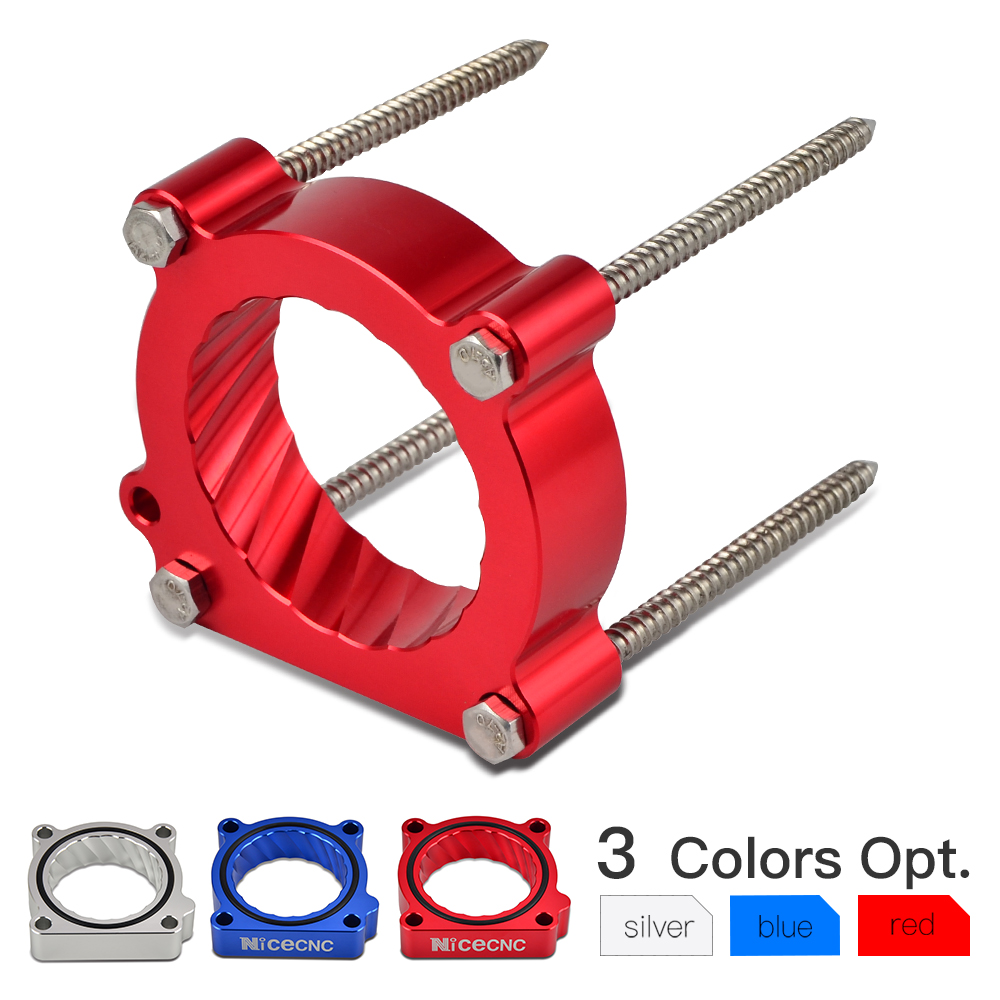 NICECNC Throttle Body Spacer Air Intake Manifold Extender Adaptor 4 Bolts Kit For Audi A3 8P TT 2008 2013 A4 B8 Q5 A5 2009 2015