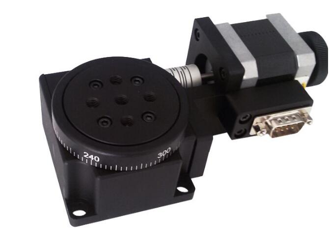 PX110 60 Electric Rotary Table 360 Degree Angle Regulator Rotary Table Indexing Plate Angle Disk