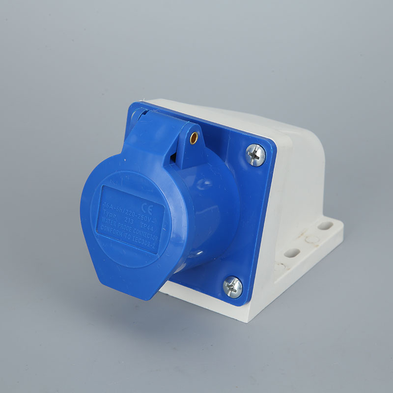 AC 220V-240V//16A IP44 2P+E IEC309-2 Single Phase Power Connector Male