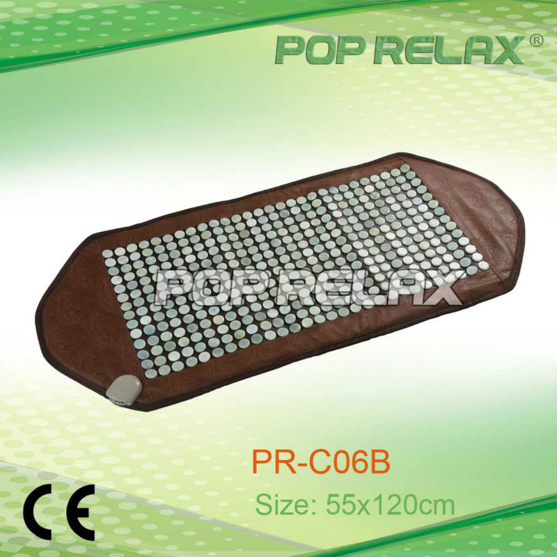 POP RELAX far infrared physical heating therapy jade mattress PR-C06B PVC size 55x120cm CE