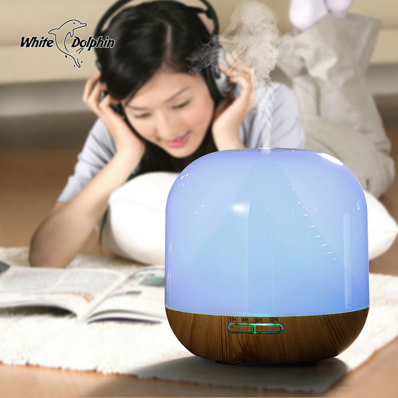Air Diffuse Ultrasonic Humidifier 300ml Aroma Oil Diffuser LED Light Mist Maker Home Appliances Essential Oil Diffuser 300ml colors changable led light essential oil aroma diffuser ultrasonic air humidifier mist maker for home& bedroom