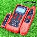 KELUSHI NF-868 Inglés versión Más Reciente Red de Cable Tester Perseguidor Del Alambre Del Cable del Escáner Breakpoint Tester PARA RJ45/RJ11/BNC/USB