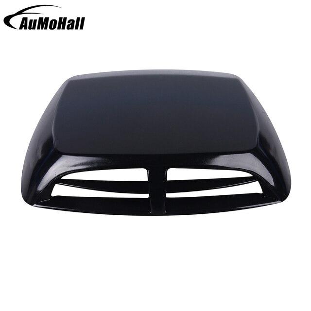 Universal Auto Dekorasi Bonnet Vent Sampul Sticker Mobil Hitam Putih Perak  3 Warna Stiker Sel Intake b604f94c5e