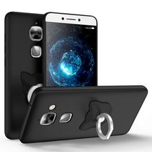 Новый Для Пусть V LeEco Le Max 2 Case 5.7 «360 корпус ультратонкий Жесткий Матовый PC Задняя Крышка с Кольцо Телефон Стенд Держатель