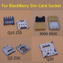 1PC Für BlackBerry Q10 Z10 9900 9930 Q5 Z30 Q20 Sim Card Reader Halter Slot Anschluss Teile Handy(China)