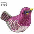 Purple Crystal Diamond Bird Clutch Evening Bag For Women Mini Metal Wedding Bag Party Rhinestones Clutches Handbags and Purses