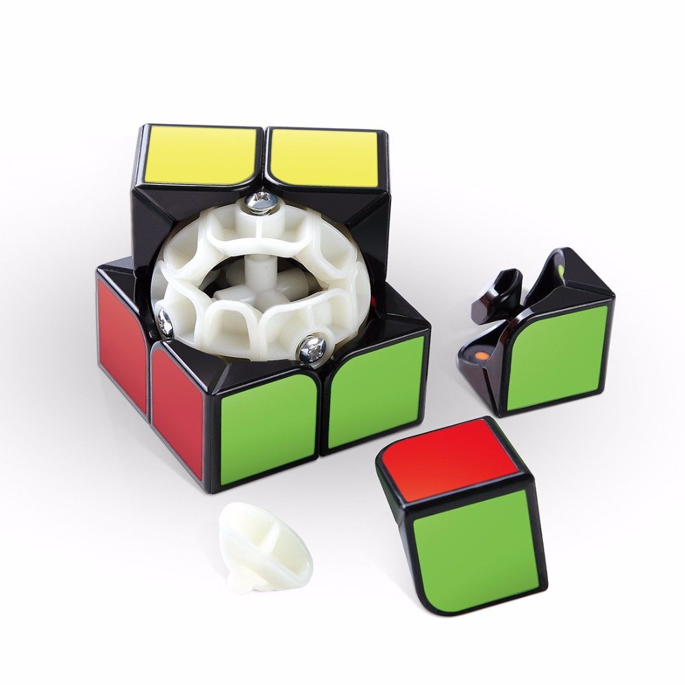 Cyclone Boys Feizhi Magic Cube 2x2x2 Stickerless with Plastic Tile Puzzle Cubes Speed Cubo Gifts Educational Toys for Children
