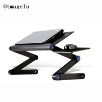 New High Quality Multi Functional Ergonomic Mobile Laptop Stand Portable Laptop Table Foldable With Mouse Pad Notebook Desk