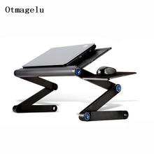 Nieuwe Hoge Kwaliteit Multi Functionele Ergonomische Mobiele Laptop Stand Draagbare Laptop Tafel Opvouwbare Met Muismat Notebook Bureau
