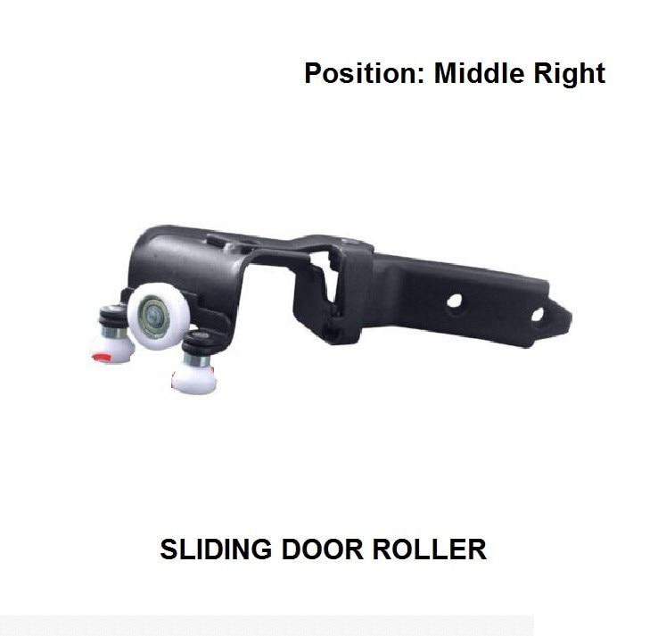 FOR VOLKSWAGEN MULTIVAN T5 2003- MIDDLE RIGHT SIDE SLIDING DOOR ROLLER UNIT NEW