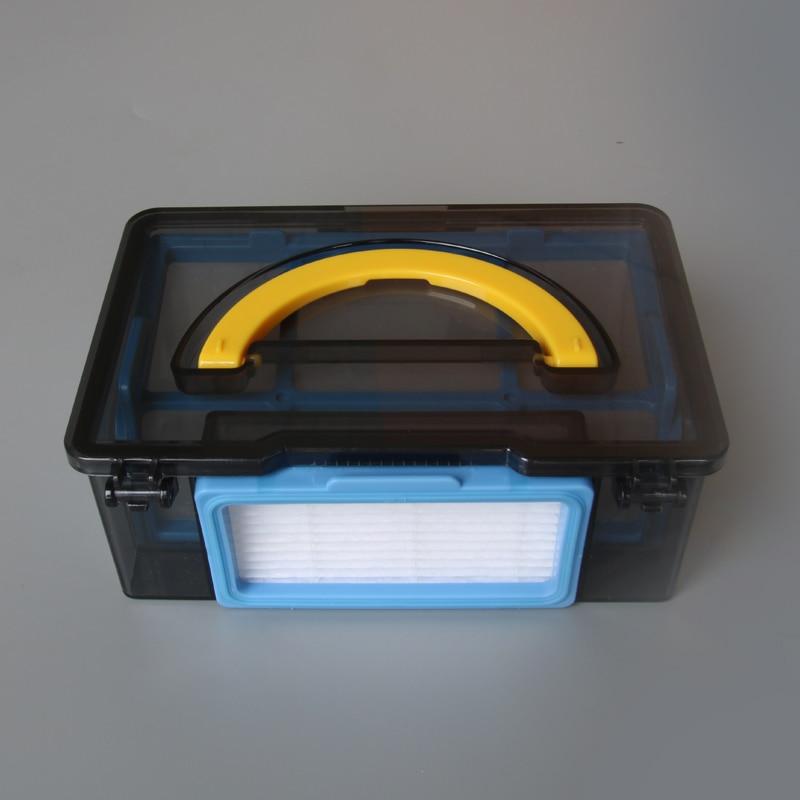 Original staub box Primären HEPA-Filter für ilife V3 V3S V3L V3S PRO ilife V5S V5 X5 ilife v5s pro roboter-staubsauger Teile