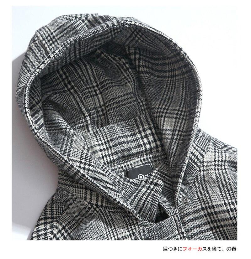 Male Long Coat Oversize Lapel Button Sobretodos Hombre Overcoat Streetwear (11)