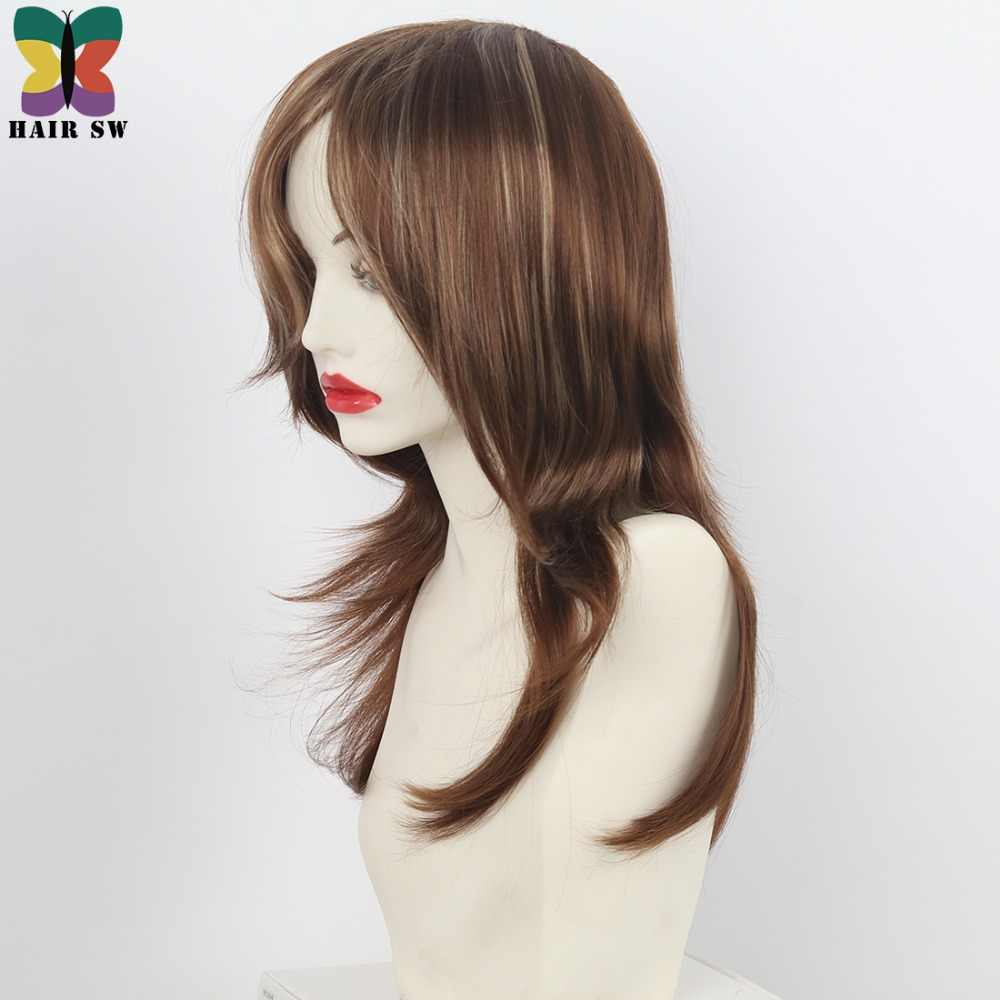 Detail Feedback Questions About Hair Sw Long Straight Synthetic Wig