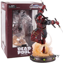Marvel Legends Hot Speelgoed Deadpool 2 Standbeeld PVC Diorama Gallery Diamond Select Speelgoed Figuur Collectible Model Toy 24 cm(China)