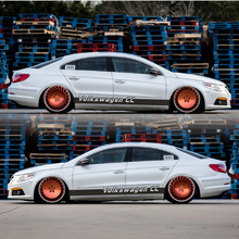 World Datong Sport Stripes Car Stickers For Volkswagen Passat CC Auto Body Customized Decal Exterior Accessories