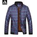 Primavera ligero cazadora mens clothing mandarina cuello de la chaqueta más el tamaño 4xl 6xl 7xl rojo regular abrigo