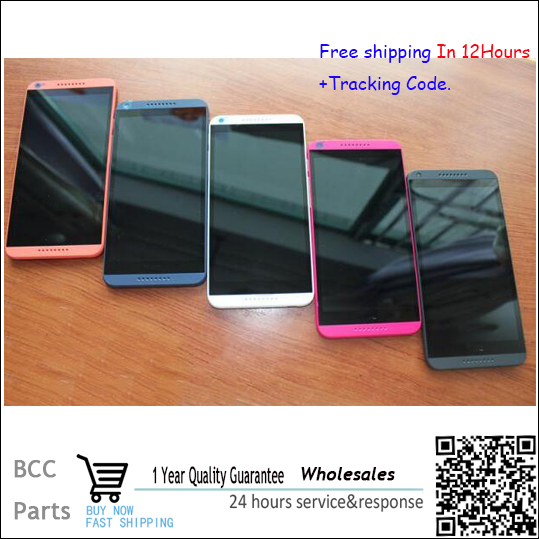 ФОТО Original New For HTC Desire 816 816W D816x lcd display touch screen with digitizer +Bezel frame full assembly free shipping !!!