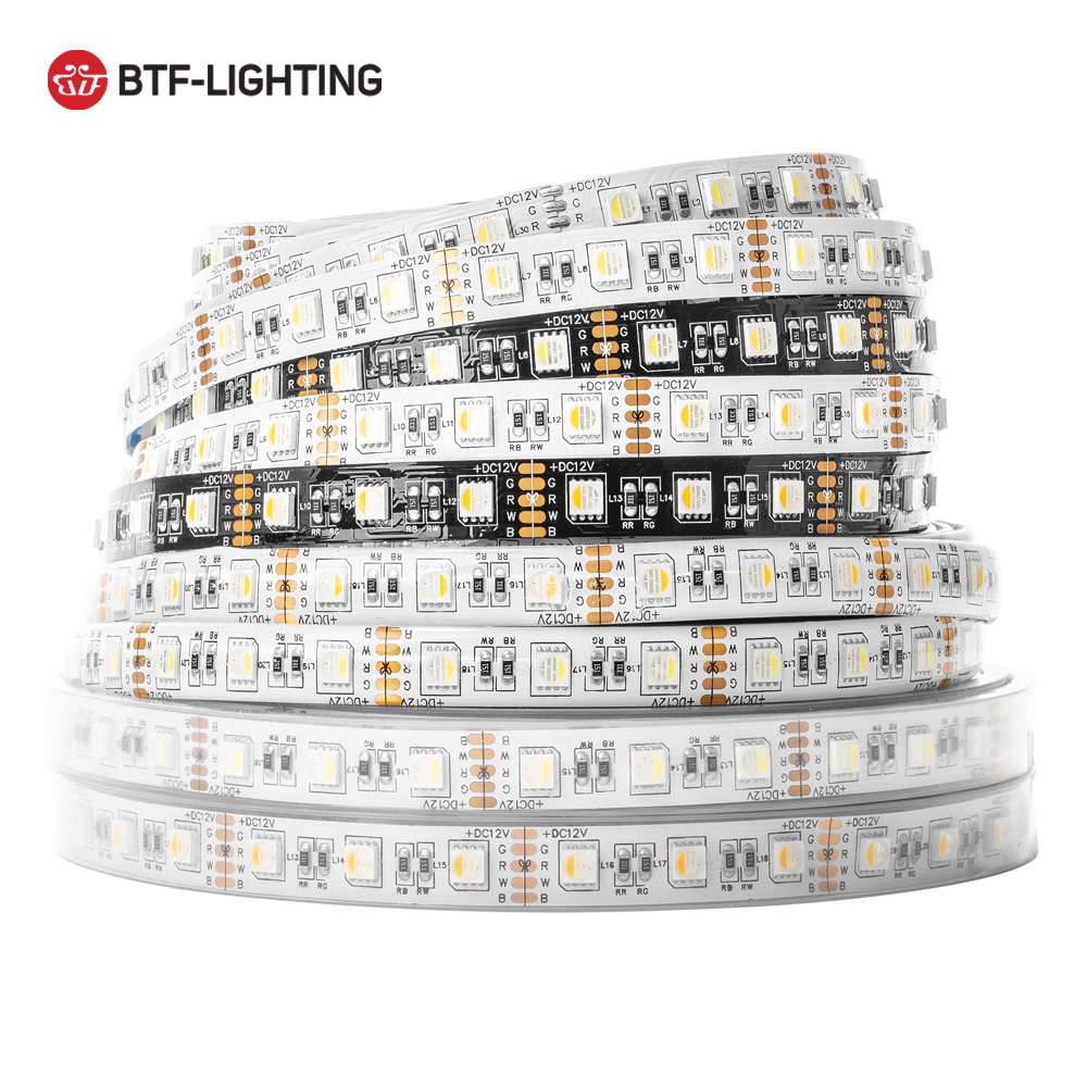 Freeshipping 5m 5050 Rgbw 4 In 1 Led Strip 4 Colors In 1 Led,rgb Warm/cool White,ip30/ip65/ip67 Dream Color Dc12v Led Lighting
