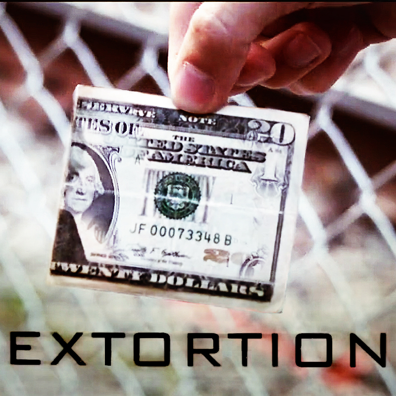 Extortion (DVD And Gimmick) By Patrick Kun And SansMinds / Close-up Street Bill Cash Magic Tricks Products Toys Wholesale