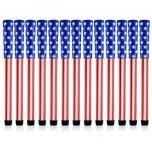 New AVS Soft Golf Grips 13x  Standard Midszie Oversize USA Flag Anti Slip Club With 15PCS Tapes Free