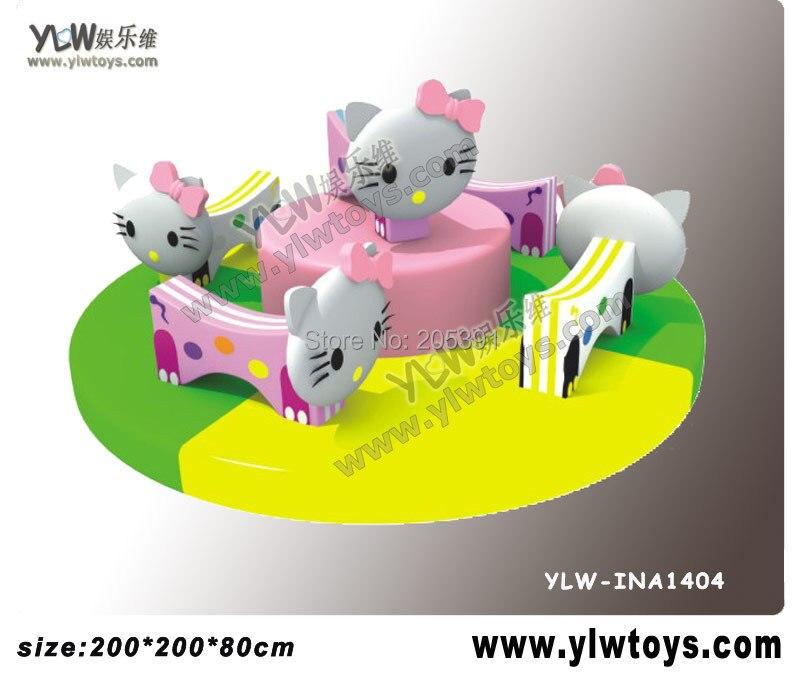 Chaise d'oscillation électrique/jouets mous d'enfants/équipement de jeu de bébé YLW-INA1897 de carrousel d'animal de ride molle électrique d'intérieur