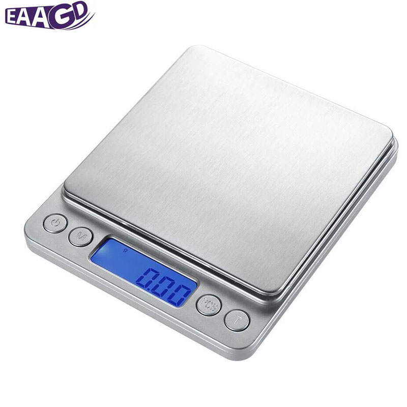 EAAGD Accuracy 0.01g Digital Pocket Stainless Jewelry & Kitchen food Scale, Lab Weight, 0.001oz Resolution