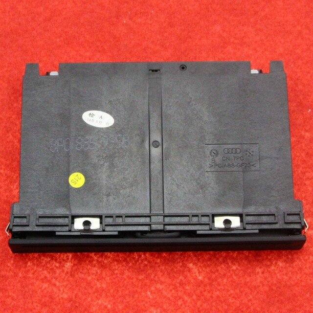 Original oem genuino negro apoyabrazos trasero portavasos plegable ajuste para vw Jetta Bora Golf MK4 1J0 858 601D 8P0 885 995B 1J0 858 601D