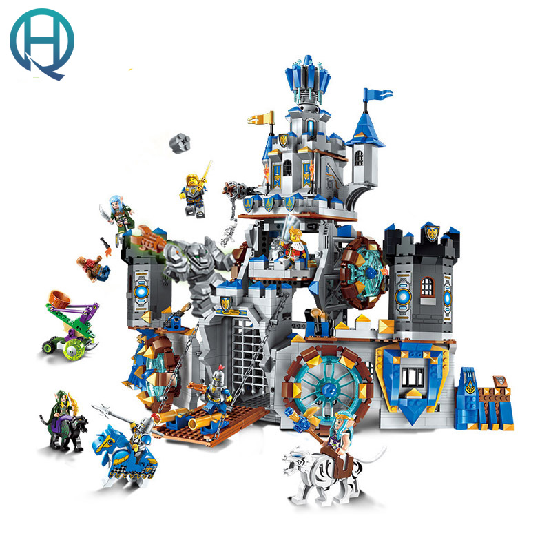 Enlighten Castle Series Castle DIY Model Building Blocks Bricks Sets Educational Birthday Gift Toys for Children Kids enlighten 325pcs set riot tracking car model building blocks toys for kids children educational assembling blocks diy bricks toy