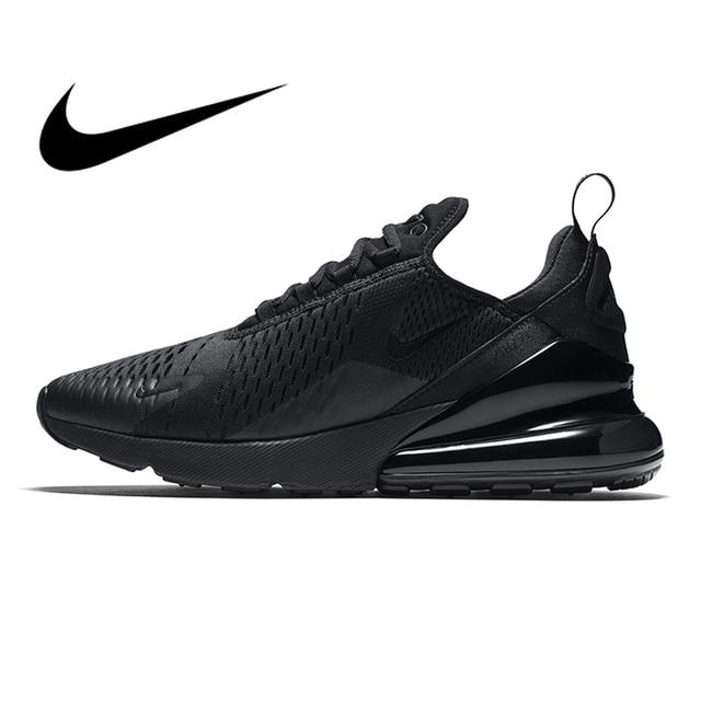 Оригинальная продукция Nike Air Max 270 Мужские дышащие кроссовки уличные спортивные удобные на шнуровке прочные беговые кроссовки AH8050