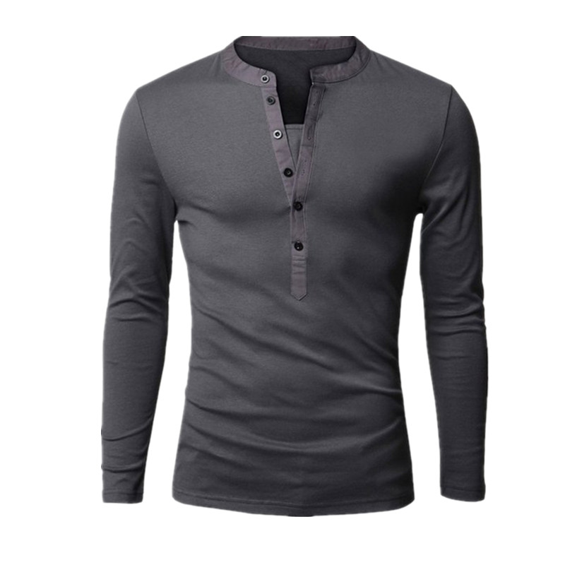 High Quality Henley Tee Shirts for Men-Buy Cheap Henley Tee Shirts ...