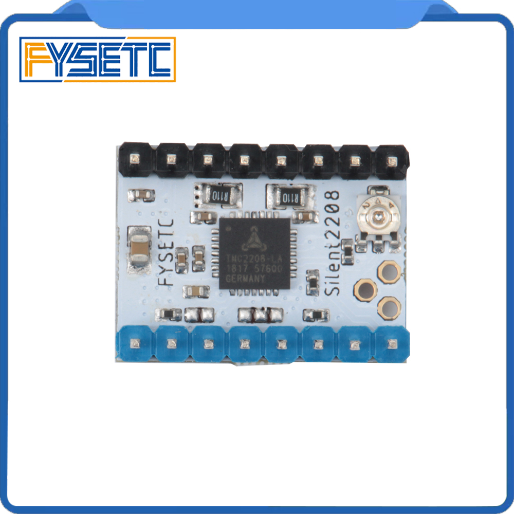 1pc TMC2208 V1.2 Stepping Motor Mute Driver Stepstick Power Tube Built-in Driver Replace 256 Segment TMC2100 For 3d Printer Part