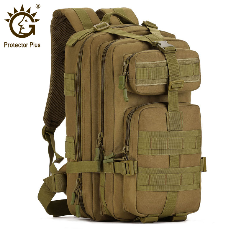 Protector Plus 40L Tactical Backpack,Waterproof Nylon Military Assault Pack Army Molle Bag Rucksack for Outdoor Hiking Camping 40l camouflage military assault pack backpack army molle nylon backpack bag