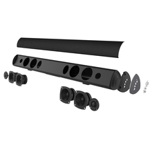 Bluetooth Soundbar 38inc Home Theater system TV Subwoofer speaker with 3Audio Mode, 6 Speaker Drivers,Wall Mountable and80 Watt