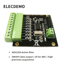 лучшая цена ADS1256 Module 24-bit ADC AD Module High Precision ADC Acquisition Data Acquisition Card Analog to Digital Converter