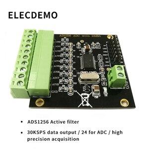Image 2 - ADS1256 módulo 24 bit ADC MÓDULO DE CA de alta precisión ADC Adquisición de Datos de adquisición de tarjeta Convertidor analógico a Digital