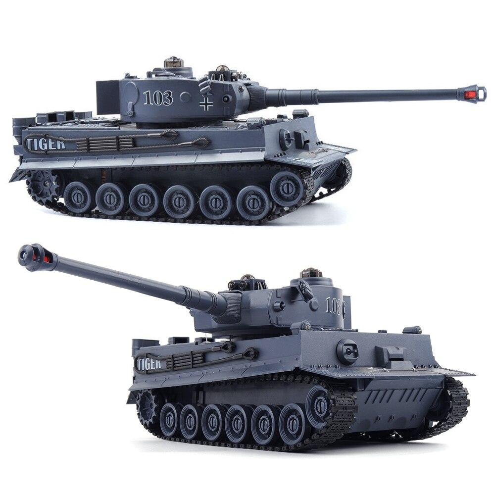 1/20 RC Tank 9CH 27 mhz Infrarot RC Schlacht Tiger T90 Tank Kanone & Emmagee Fernbedienung Tank fernbedienung spielzeug für jungen chassis tank