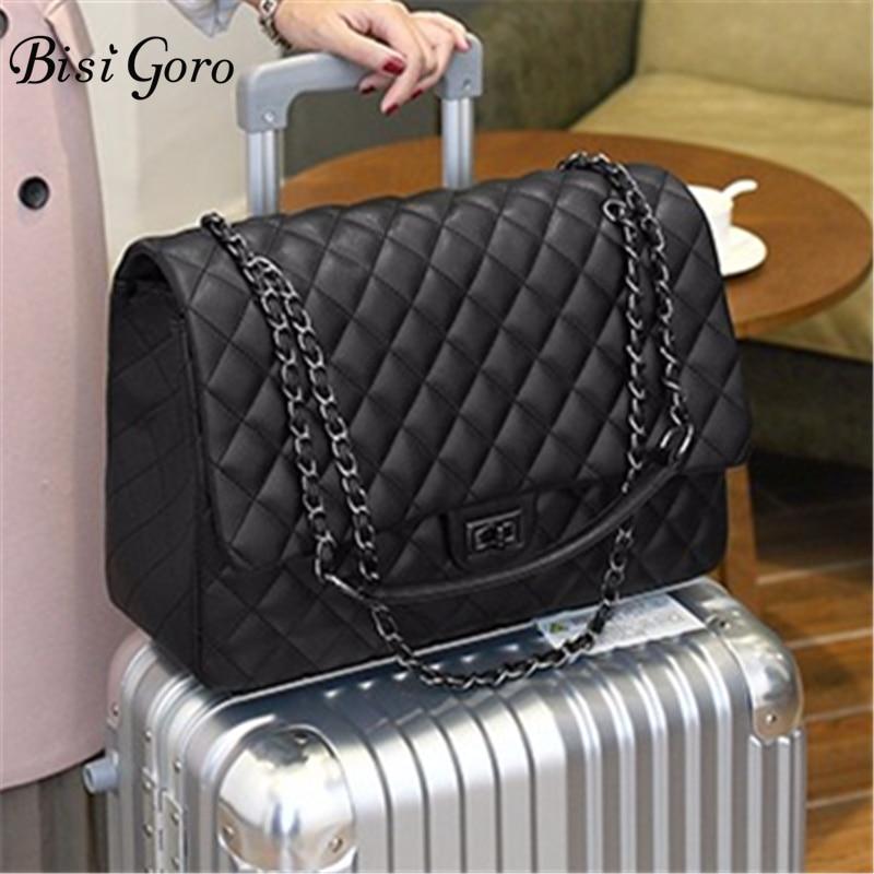 Bisi Goro new 2019 Travel Bag Large Capacity Bag Interlayer handbags Women Folding Bag Unisex Luggage