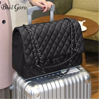 Bisi Goro new 2019 Travel Bag Large Capacity Bag Interlayer handbags Women Folding Bag Unisex Luggage Travel Big Handbags