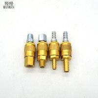 Standardowy miedzi i stali nierdzewnej hydrant wąż akcesoria pralka, szybkie złącze adapter akcesoria pistolet do czyszczenia przemysłowego