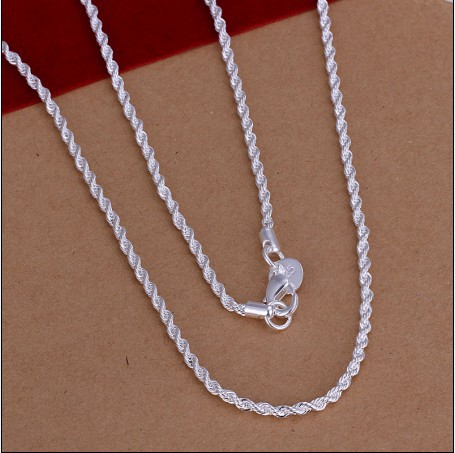 loss promotion fashion silver plated rops