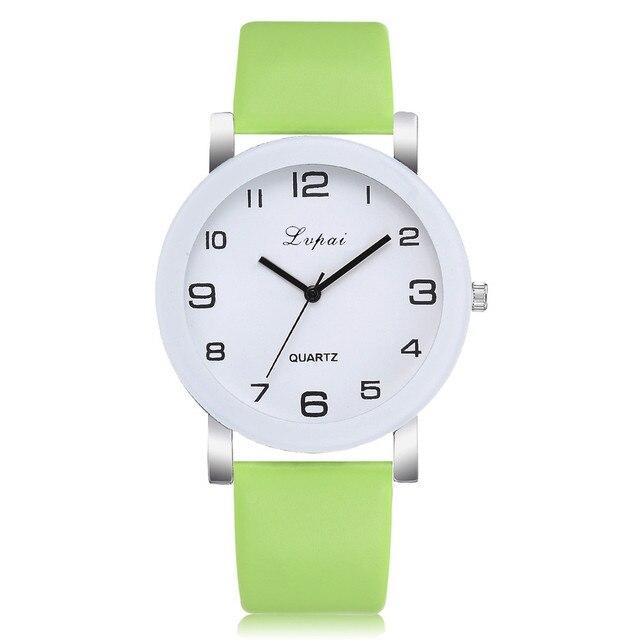 Green Quartz Watch